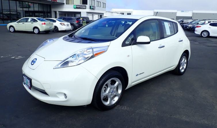 Nissan Leaf 2012 Electric Car