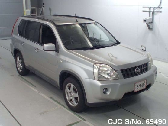 Nissan X-Trail Silver AT 2008