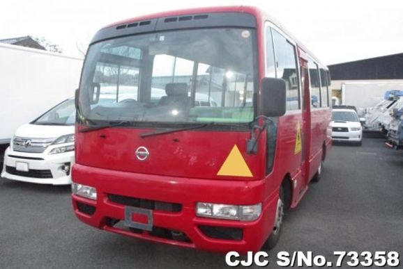 Nissan Civilian Red Automatic 2013